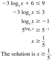 Big Ideas Math Algebra 2 Answer Key Chapter 6 Exponential and Logarithmic Functions 6.6 a 53