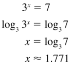 Big Ideas Math Algebra 2 Answer Key Chapter 6 Exponential and Logarithmic Functions 6.6 a 9
