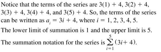 Big Ideas Math Algebra 2 Answer Key Chapter 8 Sequences and Series 8.1 a 31