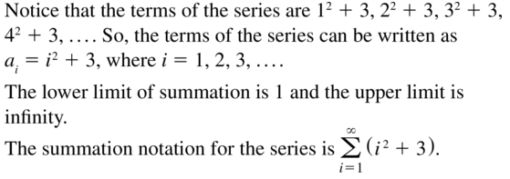 Big Ideas Math Algebra 2 Answer Key Chapter 8 Sequences and Series 8.1 a 33
