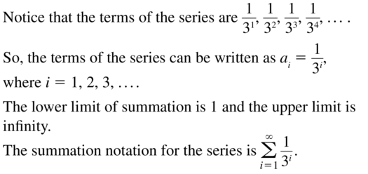 Big Ideas Math Algebra 2 Answer Key Chapter 8 Sequences and Series 8.1 a 35
