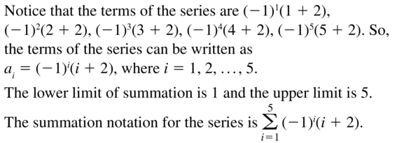 Big Ideas Math Algebra 2 Answer Key Chapter 8 Sequences and Series 8.1 a 37