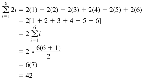 Big Ideas Math Algebra 2 Answer Key Chapter 8 Sequences and Series 8.1 a 39