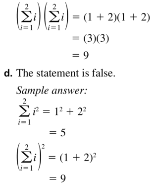Big Ideas Math Algebra 2 Answer Key Chapter 8 Sequences and Series 8.1 a 59.2