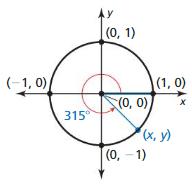 Big Ideas Math Algebra 2 Answer Key Chapter 9 Trigonometric Ratios and Functions 7.1 2