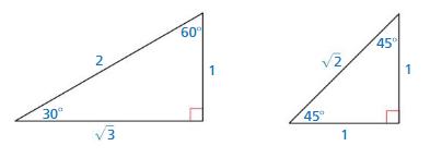 Big Ideas Math Algebra 2 Answer Key Chapter 9 Trigonometric Ratios and Functions 9.1 2