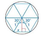 Big Ideas Math Algebra 2 Answer Key Chapter 9 Trigonometric Ratios and Functions 9.1 32