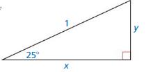 Big Ideas Math Algebra 2 Answer Key Chapter 9 Trigonometric Ratios and Functions 9.1 5