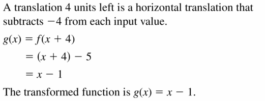 Big Ideas Math Algebra 2 Answers Chapter 1 Linear Functions 1.2 Question 3