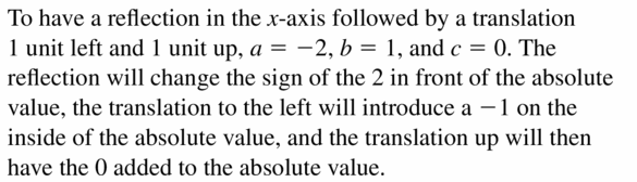 Big Ideas Math Algebra 2 Answers Chapter 1 Linear Functions 1.2 Question 45