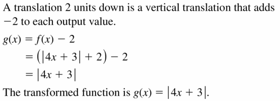 Big Ideas Math Algebra 2 Answers Chapter 1 Linear Functions 1.2 Question 5