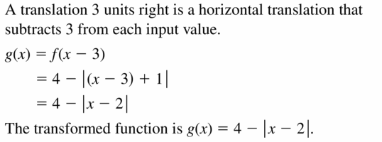 Big Ideas Math Algebra 2 Answers Chapter 1 Linear Functions 1.2 Question 7