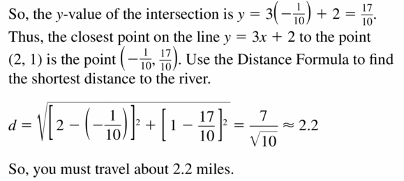Big Ideas Math Algebra 2 Answers Chapter 1 Linear Functions 1.3 Question 31.2