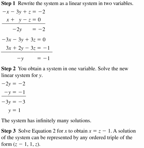 Big Ideas Math Algebra 2 Answers Chapter 1 Linear Functions 1.4 Question 13.1