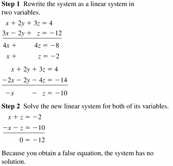 Big Ideas Math Algebra 2 Answers Chapter 1 Linear Functions 1.4 Question 15.1