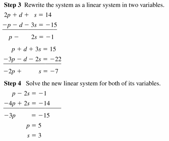 Big Ideas Math Algebra 2 Answers Chapter 1 Linear Functions 1.4 Question 17.2