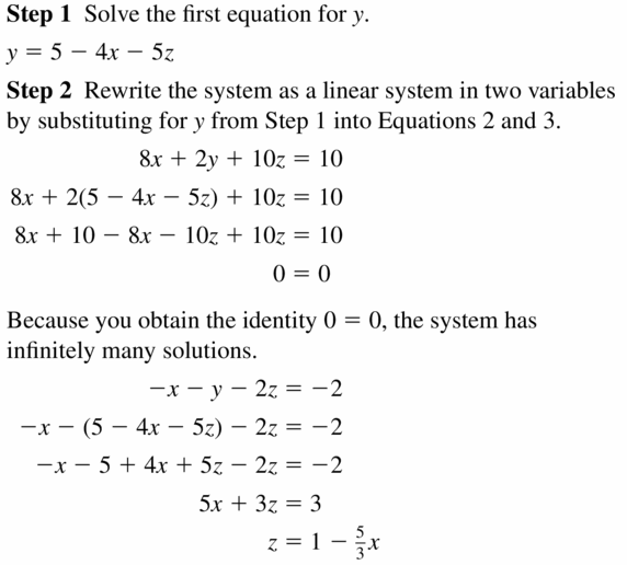 Big Ideas Math Algebra 2 Answers Chapter 1 Linear Functions 1.4 Question 27.1