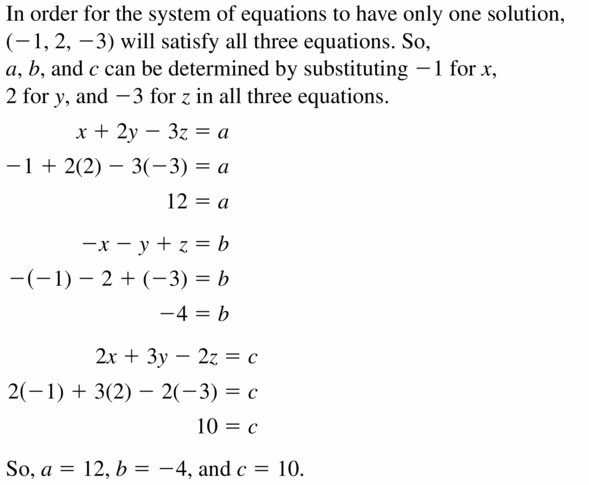 Big Ideas Math Algebra 2 Answers Chapter 1 Linear Functions 1.4 Question 41