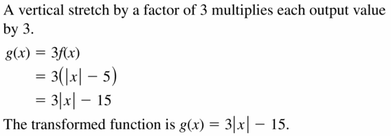 Big Ideas Math Algebra 2 Answers Chapter 1 Linear Functions 1.4 Question 51