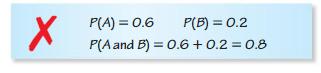 Big Ideas Math Algebra 2 Answers Chapter 10 Probability 10.2 8