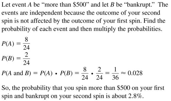 Big Ideas Math Algebra 2 Answers Chapter 10 Probability 10.2 a 11