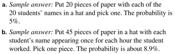 Big Ideas Math Algebra 2 Answers Chapter 10 Probability 10.2 a 25