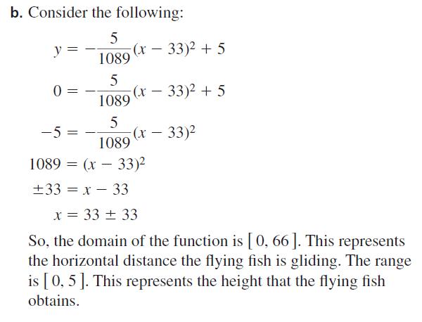 Big Ideas Math Algebra 2 Answers Chapter 2 Quadratic Functions 2.1 Question 45.2