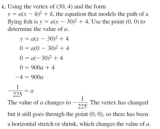 Big Ideas Math Algebra 2 Answers Chapter 2 Quadratic Functions 2.1 Question 45.3