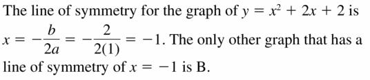Big Ideas Math Algebra 2 Answers Chapter 2 Quadratic Functions 2.2 Question 37