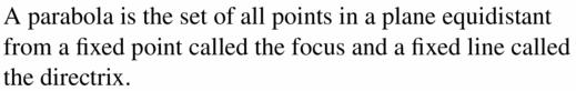 Big Ideas Math Algebra 2 Answers Chapter 2 Quadratic Functions 2.3 Question 1