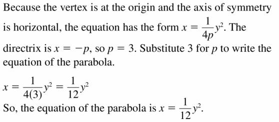 Big Ideas Math Algebra 2 Answers Chapter 2 Quadratic Functions 2.3 Question 29