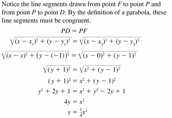 Big Ideas Math Algebra 2 Answers Chapter 2 Quadratic Functions 2.3 Question 3