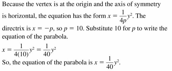Big Ideas Math Algebra 2 Answers Chapter 2 Quadratic Functions 2.3 Question 31
