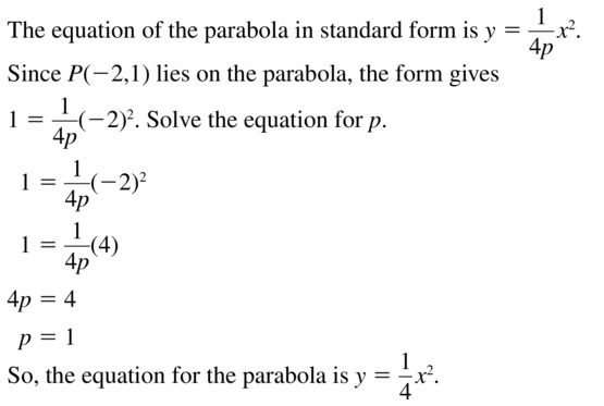 Big Ideas Math Algebra 2 Answers Chapter 2 Quadratic Functions 2.3 Question 51