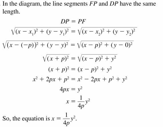 Big Ideas Math Algebra 2 Answers Chapter 2 Quadratic Functions 2.3 Question 53