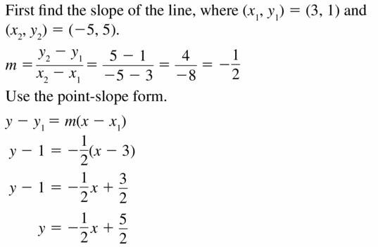 Big Ideas Math Algebra 2 Answers Chapter 2 Quadratic Functions 2.3 Question 57