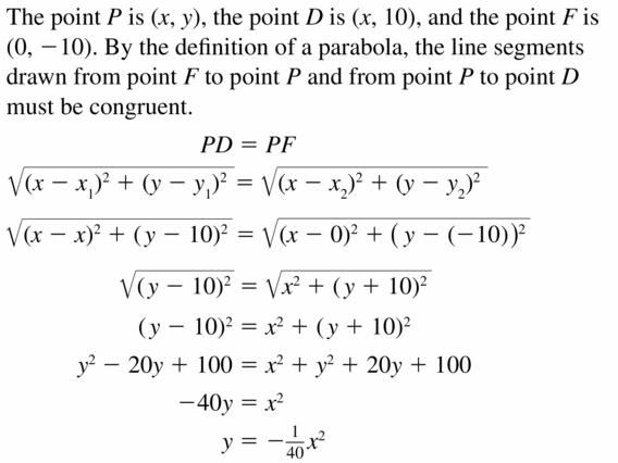 Big Ideas Math Algebra 2 Answers Chapter 2 Quadratic Functions 2.3 Question 9