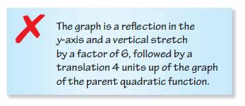 Big Ideas Math Algebra 2 Answers Chapter 2 Quadratic Functions 6