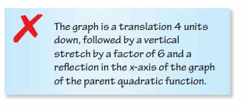 Big Ideas Math Algebra 2 Answers Chapter 2 Quadratic Functions 7