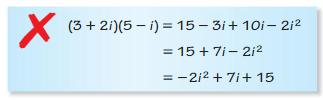 Big Ideas Math Algebra 2 Answers Chapter 3 Quadratic Equations and Complex Numbers 3.2 10