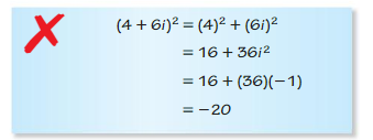 Big Ideas Math Algebra 2 Answers Chapter 3 Quadratic Equations and Complex Numbers 3.2 11