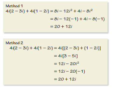 Big Ideas Math Algebra 2 Answers Chapter 3 Quadratic Equations and Complex Numbers 3.2 14