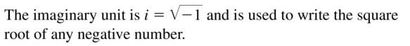 Big Ideas Math Algebra 2 Answers Chapter 3 Quadratic Equations and Complex Numbers 3.2 a 1