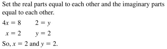 Big Ideas Math Algebra 2 Answers Chapter 3 Quadratic Equations and Complex Numbers 3.2 a 13