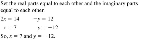 Big Ideas Math Algebra 2 Answers Chapter 3 Quadratic Equations and Complex Numbers 3.2 a 17