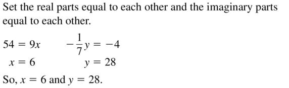 Big Ideas Math Algebra 2 Answers Chapter 3 Quadratic Equations and Complex Numbers 3.2 a 19