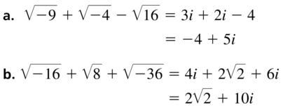 Big Ideas Math Algebra 2 Answers Chapter 3 Quadratic Equations and Complex Numbers 3.2 a 31