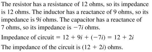 Big Ideas Math Algebra 2 Answers Chapter 3 Quadratic Equations and Complex Numbers 3.2 a 33