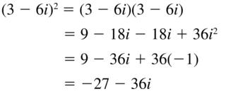 Big Ideas Math Algebra 2 Answers Chapter 3 Quadratic Equations and Complex Numbers 3.2 a 43