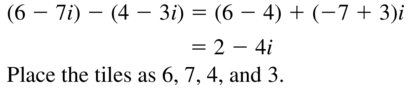 Big Ideas Math Algebra 2 Answers Chapter 3 Quadratic Equations and Complex Numbers 3.2 a 47
